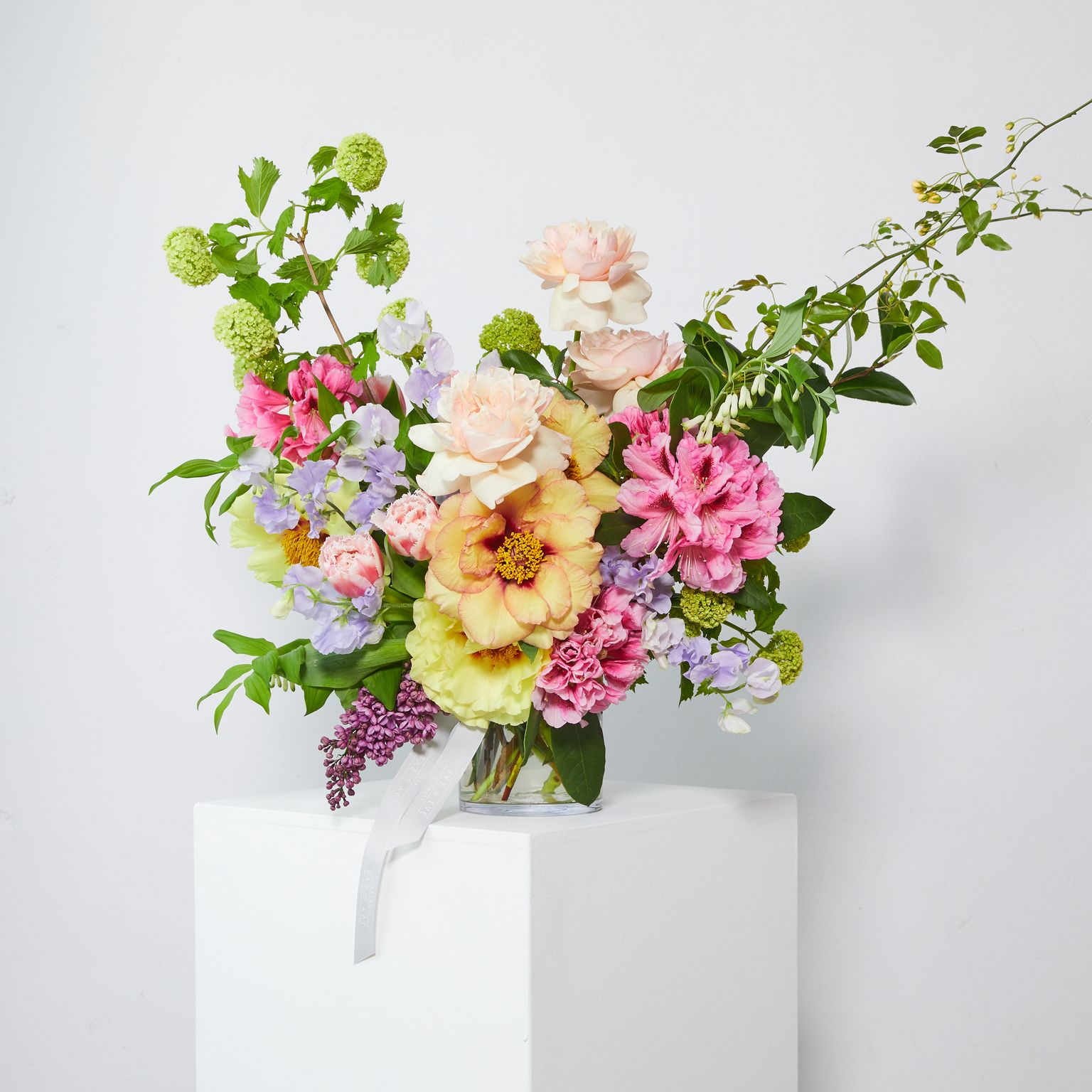 spring sorbet in vase